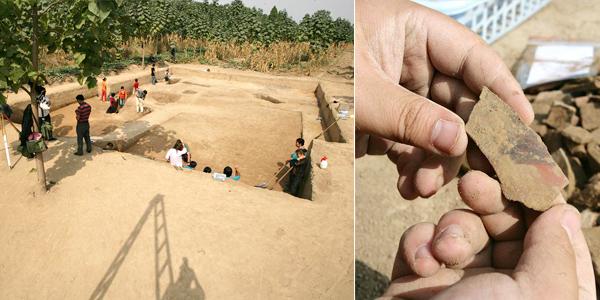河南灵宝西坡遗址进行第八次考古发掘[组图]