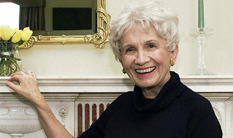 加拿大作家爱丽丝·门罗获2013诺贝尔文学奖