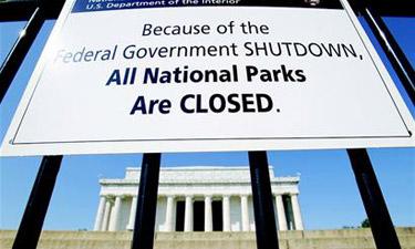 美国政府又关门了