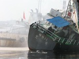 寧波鎮海一油船發生爆炸事故致7死1傷
