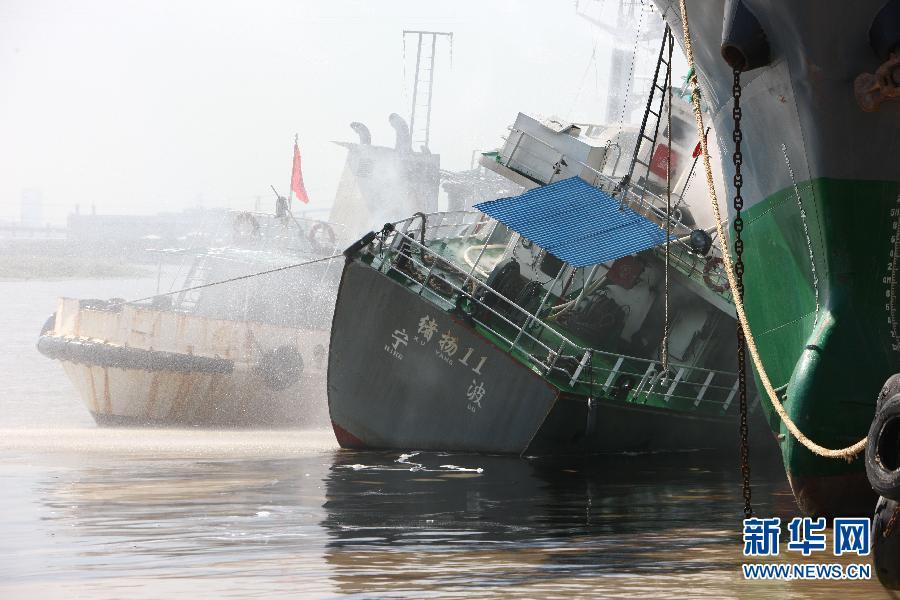 #(突发事件)(1)浙江宁波镇海一油船发生爆炸事故致7死1伤