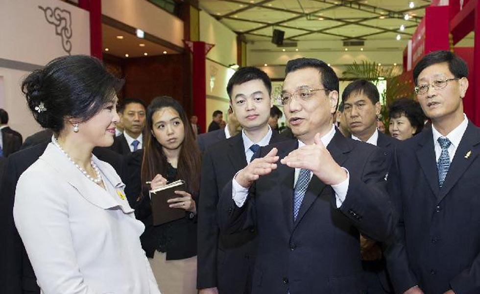 李克强正式访问泰国的精彩瞬间