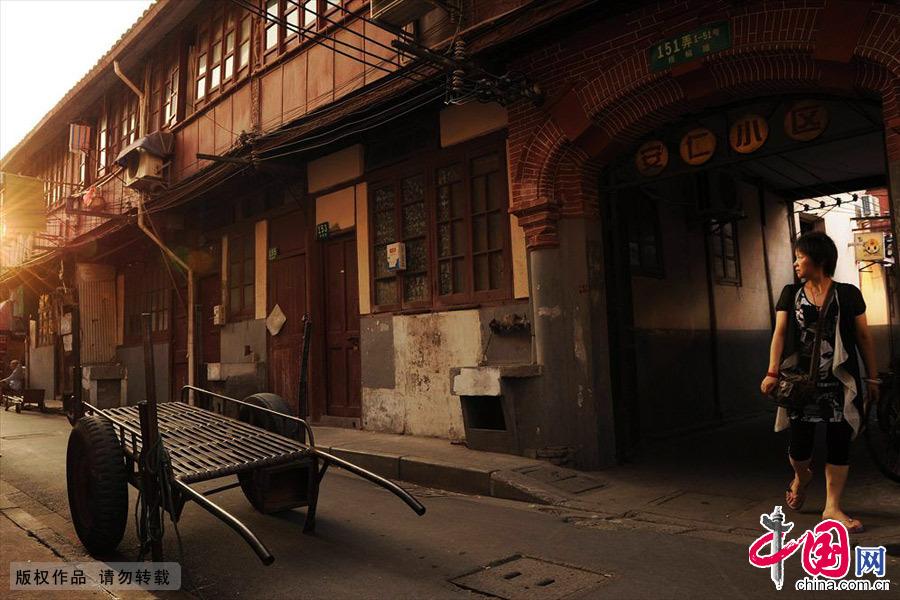 上海老城厢安仁小区。中国网图片库 赖鑫琳/摄
