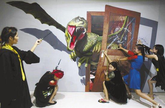 首家大型3D儿童影棚落户江苏海安
