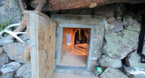 中国豪华山洞房子图片