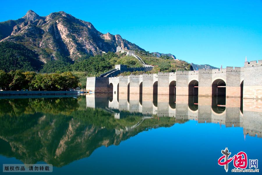 九门口关水上城桥。中国网图片库 张旭摄影