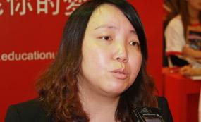 英国大使馆文化教育处教育推广助理主任刘静