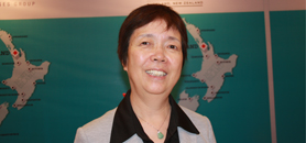 新西兰奥克兰理工大学国际中心北亚地区经理 马建华