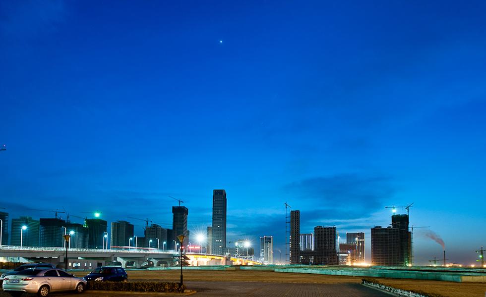 建设天津滨海新区