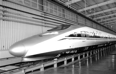 首列提供香港的高速列车下线