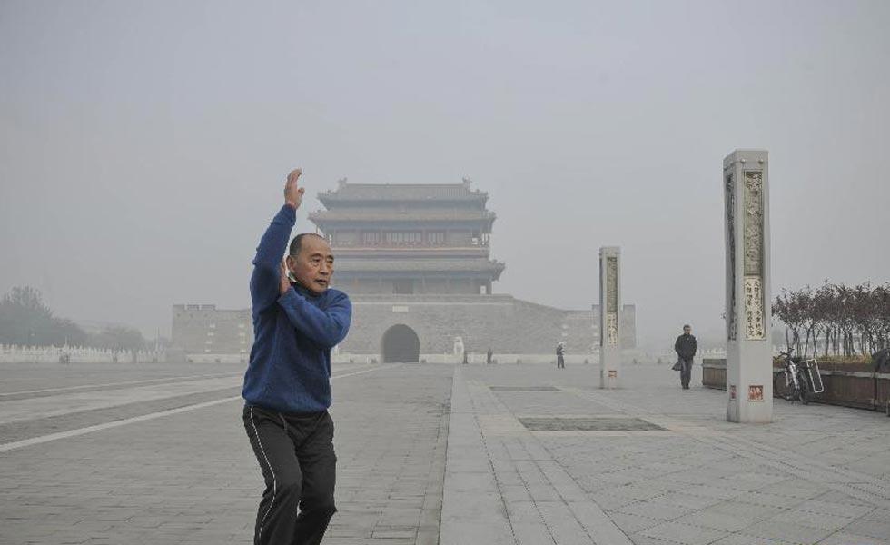 全国多地出现雾霾天气