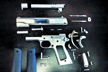 手枪素材二次元