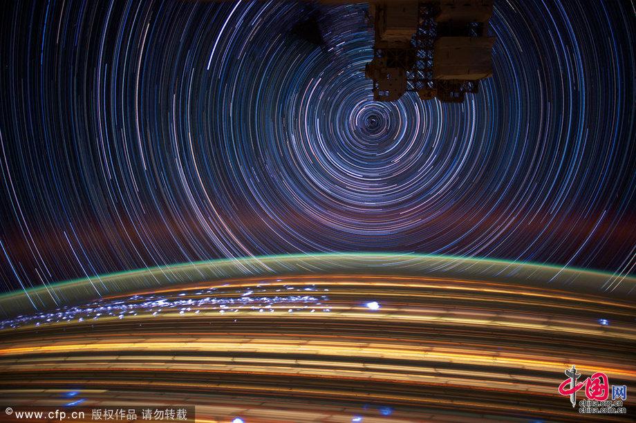 国际空间站建立15周年 震撼太空航拍美图精选[组图]