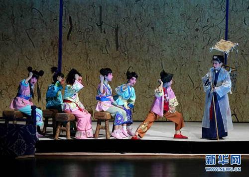 童话京剧 木偶奇遇记 在京公演