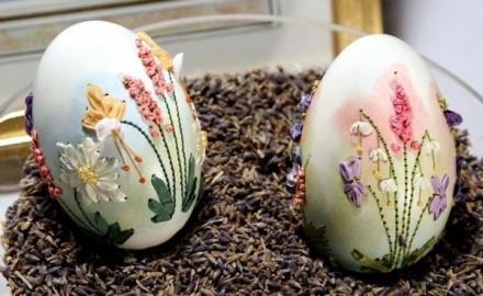 蛋壳画粘贴画图片