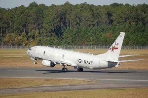 美军最强P-8A反潜机部署钓鱼岛附近