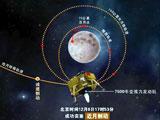 嫦娥三号成功实施近月制动顺利进入环月轨道[组图]