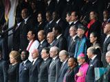 曼德拉追悼會舉行 多國政要出席[組圖]