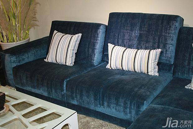 客厅 4组时尚布艺沙发推荐图片