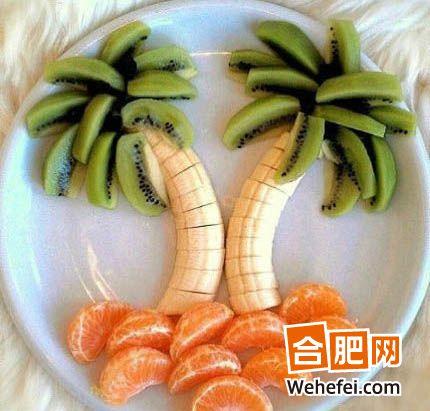 浪漫圣诞精致水果拼盘尽显温馨