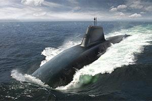 英国悄然公开下一代核潜艇精美CG效果图