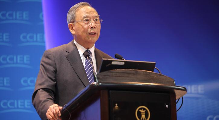 【2013-14中國經濟年會】中國國際經濟交流中心理事長曾培炎發言。