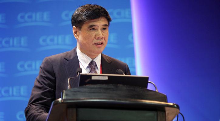 國家發展和改革委員會副主任張曉強發表主題演講。