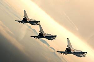 官方照片曝光新型国产战机训练(高清组图)