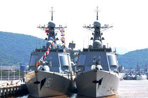 2013年中国海军服役舰艇数量世界第一