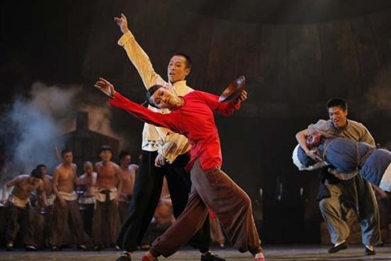 舞剧 红高粱 亮相北京国家大剧院