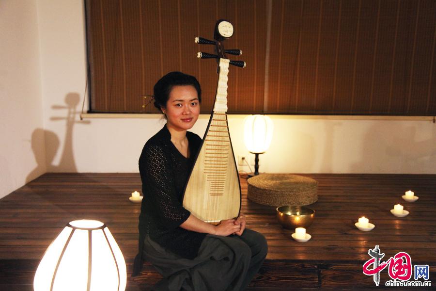 古筝二重奏《妆台秋思》,兰维薇的琵琶独奏《秦俑》,蒋宁的笛子独奏