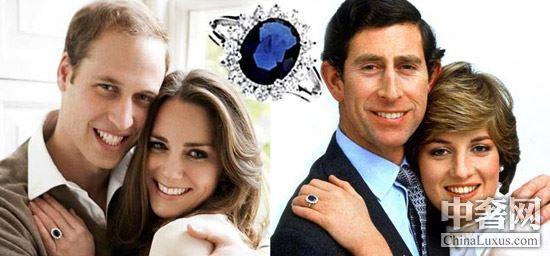 戴安娜王妃的蓝宝石戒指-细数顶级珠宝背后的爱情故事 各个胜过脑残