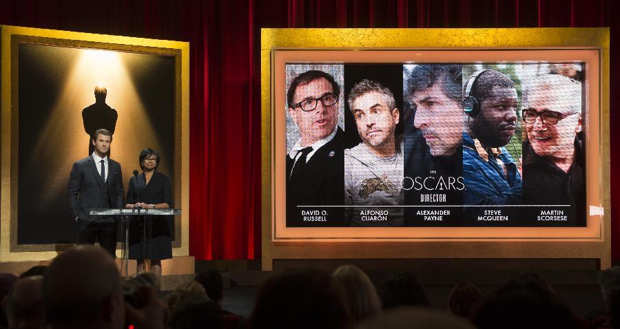 (国际)(1)第86届奥斯卡主要奖项提名揭晓