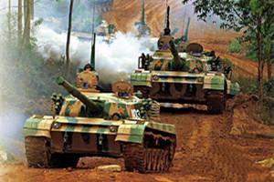 中国陆军主战装备酷图集中曝光