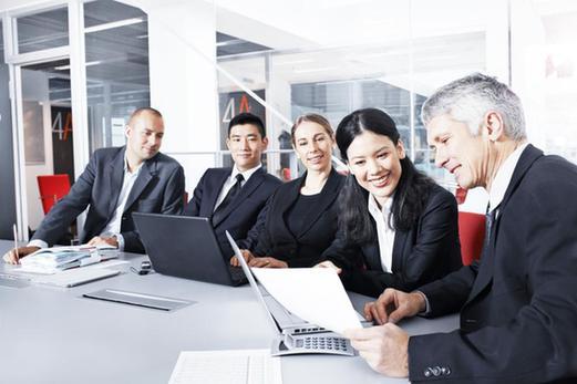 团队系统全面,及时的支持下组建新公司并导入鸣仁