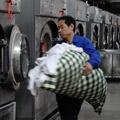 列车卧具洗涤