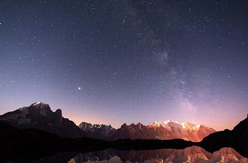 法国阿尔卑斯山美景