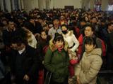 铁路春运出京客流达最高峰