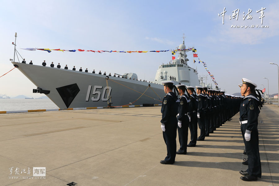 中國2013年服役28艘艦艇 數量世界第一[組圖]