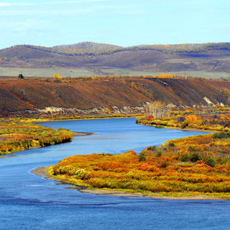 中俄界河--额尔古纳河[组图]