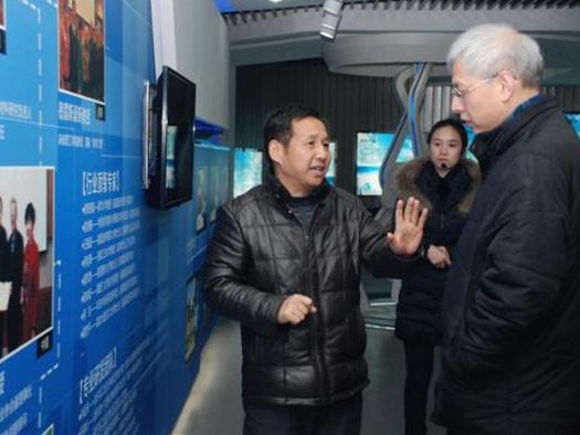 杭州师范大学副校长走访超威