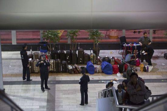 京九铁路广告灵异事件视频图片