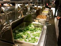 委員駐地餐飲初探 用餐簡單厲行節儉