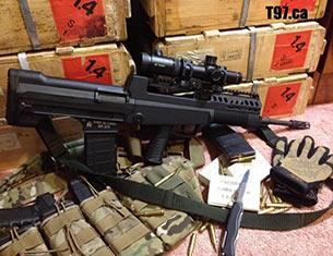 中国 步枪/中国97式突击步枪是在95式突击步枪基础上改装研制,主要变化是...