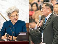 傅瑩巧對媒體'圍攻' 信訪、賄選受關注[組圖]