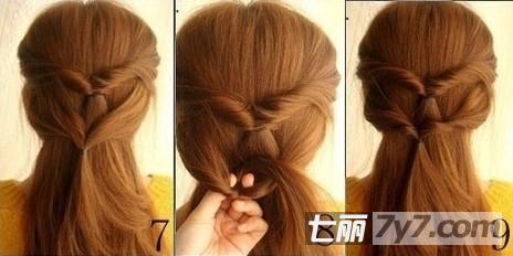 韩式发型编发图片步骤