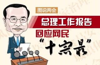 """总理工作报告回应网民""""十宗最"""""""