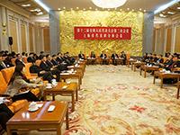 上海代表團全團會議對媒體開放[組圖]