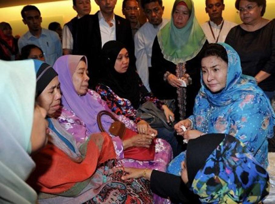 qq 西亞總/3月9日,馬來西亞總理納吉布的夫人羅斯瑪曼梳(Rosmah Mansor...
