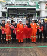 300米饱和潜水作业团队